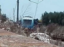Terribile scontro tra treni sulla tratta bari Nord